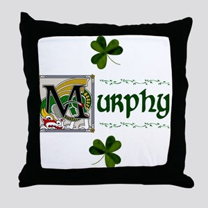 Murphy Celtic Dragon Throw Pillow