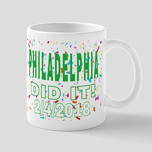 PHILADELPHIA DID IT! 2/4/2018 Mugs