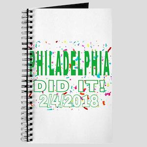 PHILADELPHIA DID IT! 2/4/2018 Journal