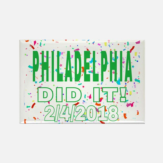 PHILADELPHIA DID IT! 2/4/2018 Magnets