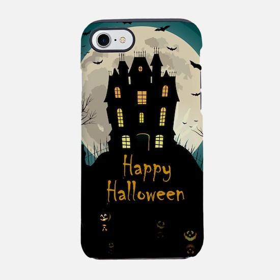 Happy Halloween Castle iPhone 8/7 Tough Case