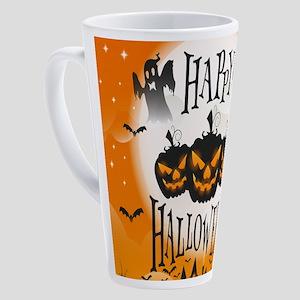 Happy Halloween 17 oz Latte Mug