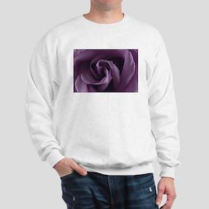 Purple Rose I Sweatshirt