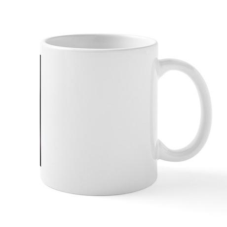 Dramatic White Rose Mug