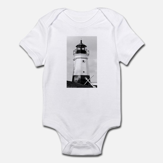 Vermillion Lighthouse Infant Bodysuit