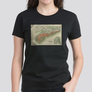 Vintage Geological Map of Nova Scotia (190 T-Shirt