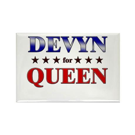 DEVYN for queen Rectangle Magnet