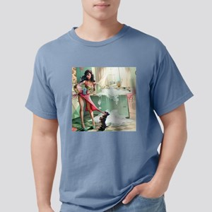 Pin up Girl In Kitchen T-Shirt