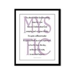 The Mystic Framed Panel Print