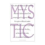 The Mystic Mini Poster Print