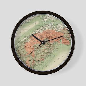 Vintage Geological Map of Nova Scotia ( Wall Clock