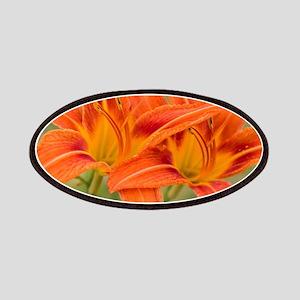 Orange Lilies Patch