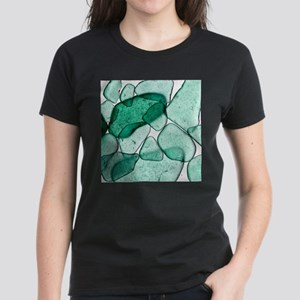 Green Glass Women's Dark T-Shirt