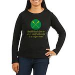 Heralds lend Class Women's Long Sleeve Dark T-Shir