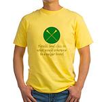 Heralds lend Class Yellow T-Shirt