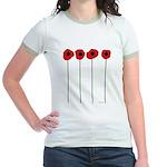Poppies Jr. Ringer T-Shirt