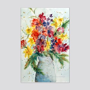 See What My Garden Grows Mini Poster Print