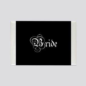 Bride - Parchment Rectangle Magnet