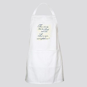 This is the Day the Lord hath BBQ Apron