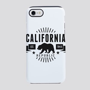 California Republic iPhone 8/7 Tough Case