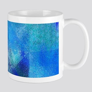 Colorful Spring Blue Mug