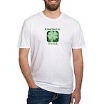 Kiss Me I'm Drunk - Irish Dri Fitted T-Shirt