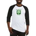 Kiss Me I'm Drunk - Irish Dri Baseball Jersey