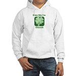 Kiss Me I'm Drunk - Irish Dri Hooded Sweatshirt