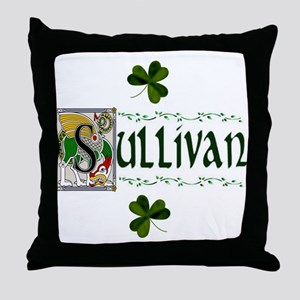 Sullivan Celtic Dragon Throw Pillow