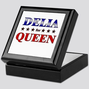 DELIA for queen Keepsake Box