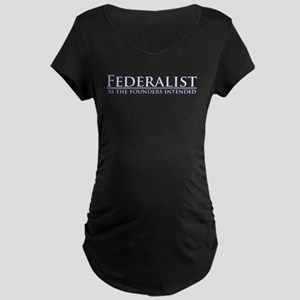 Federalist Maternity Dark T-Shirt