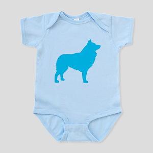 Blue Schipperke Infant Bodysuit