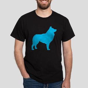Blue Schipperke Dark T-Shirt