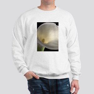 White Calla Lilly 2 Sweatshirt