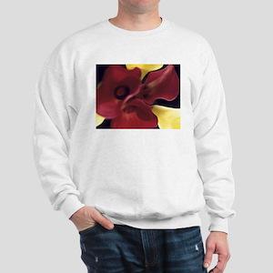 Red & Yellow Calla Lillies Sweatshirt