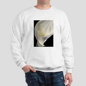 White Calla Lilly I Sweatshirt