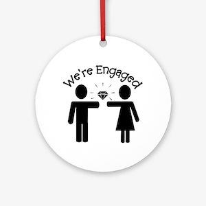 Engagement Ornament (Round)