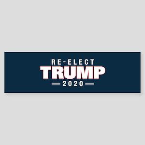 Re-elect Trump 2020 Sticker (Bumper)