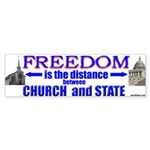 Freedom is the distance