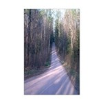 Heading On Down The Road Poster Print