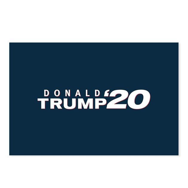 Donald Trump 2020 Postcards (Package Of 8) By Elections2020