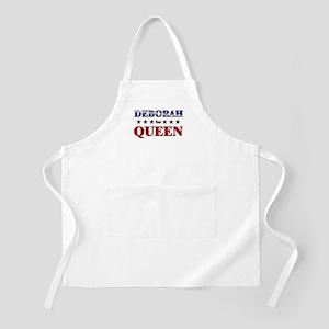 DEBORAH for queen BBQ Apron