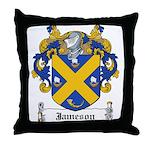 Jameson Family Crest Throw Pillow