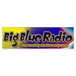 Big Blue Radio Bumper Sticker