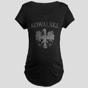 Kowalski Polish Eagle Maternity Dark T-Shirt