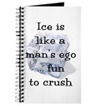 Ice is Like a Man's Ego Journal