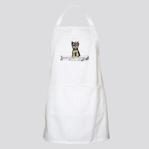 Yorkshire Terrier Dad! BBQ Apron