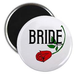 Gothic Rose Bride Magnet