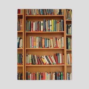 Bookshelf Books Library Bookworm Twin Duvet Cover