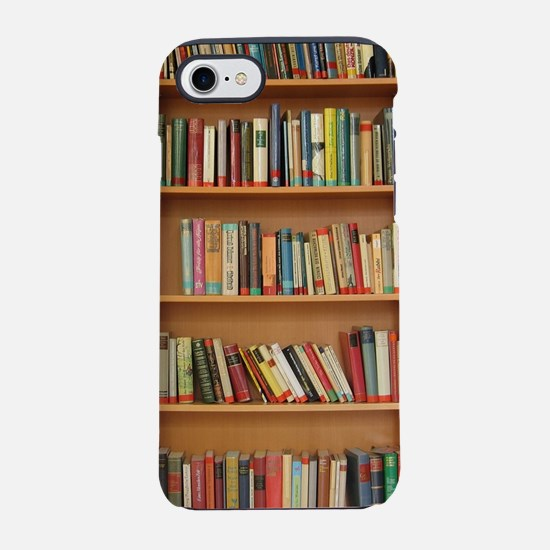 Bookshelf Books Library Book iPhone 8/7 Tough Case
